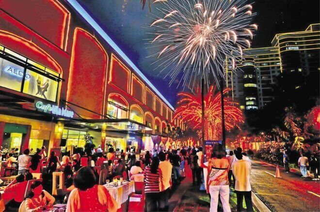 Like any tight-knit neighborhood, Rockwell lights up with festivities now and then.